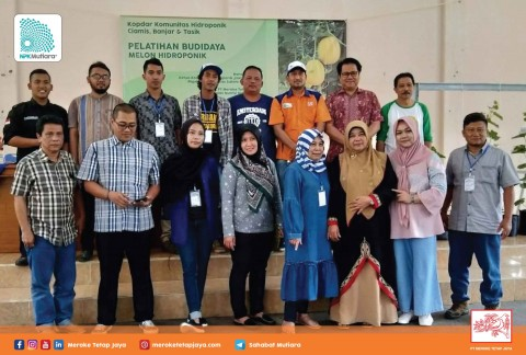 Kopdar Komunitas Hidroponik Tasik, Banjar, dan Ciamis