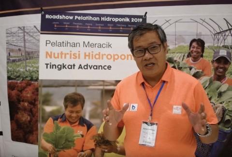 Pelatihan Meracik Nutrisi Hidroponik ke-3 di Pekanbaru