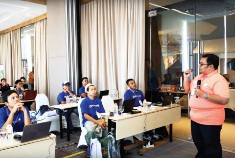 Pelatihan Meracik Nutrisi Hidroponik ke-5 Surabaya