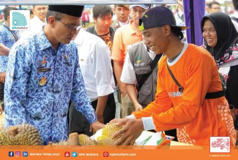 MTJ Ikut Partisipasi di Festival Durian Ciamis